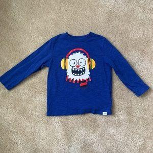 NWOT Little Boy's GAP Abominable Snowman Shirt!